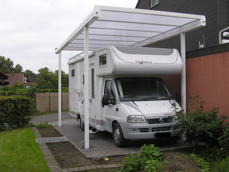 carport f r wohnwagen carport 4x8 f r caravan wohnwagen. Black Bedroom Furniture Sets. Home Design Ideas